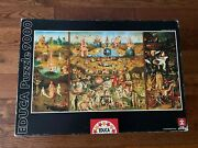 Jigsaw Puzzle - 9000 Pieces Educa The Garden Of Earthly Delights Bosch 14831