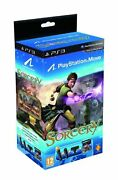 Sorcery Bundle Ps3 Includes Move Navigation Controller Ps Eye Cam Very Good 8z