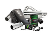 Edge Stage 2 Performance Kit Cts3 Tuner Dry Intake Exhaust Cc/lb 06-07 Duramax