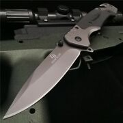 58hrc G10 Handle Tactical Outdoor Survival Combat Edc Hunting Folding Knifes