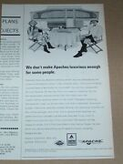 1966 Print Ad - Apache Camping Travel Trailer Camper Vesely Lapeer Michigan Ad