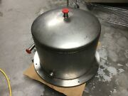 12 X 17 Vacuum / Pressure Process Chamber, Ss And Copper Base, Kf25 Fittings