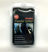Taylor Made Premium Fender Cover Polyester Black Sz. Small 6.5andrdquo X 23andrdquo
