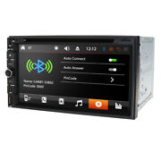 Hizpo Double 2din Dash 7car Stereo Radio Dvd Player Aux Bluetooth Usb+sony Lens