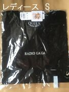 Gu Tshirt Short Sleeve Radio Ga Ga Ladies Womens Size Queen Collaboration