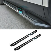 For Cadillac Xt4 2019-2021 Aluminum Side Step Running Board Nerf Bar Protect 2pc