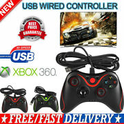 New Usb Wired Game Controller Gamepad For Microsoft Xbox 360 Xbox 360 Slim Pc