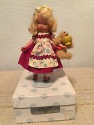 Nancy Ann Storybook Doll 128 Goldilocks And The Baby Bear Bisque Jt 5.5