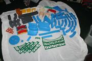Huge Lot Of 295 Tomy Thomas The Train Blue Track Draw Bridges Tons Of Parts