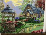Finished Completed Cross Stitch, Master Piece/ Wall Hang Décor/ Tapestry/ Handma