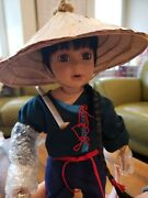 Collectible Doll Florence Marunuk Collect Young Lee Show Stopper Wo/certificatio
