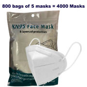 4000pcs Kn95 Face Mask Disposable 5-layer Respirator Dust Protection Wholesale