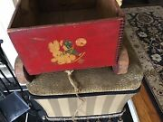 Vintage Pull Toy Childs Wood Wagon