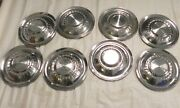 1955 Plymouth Valiant 15-inch Hubcap Wheelcovers Vintage Oem Lot Of 8 Used