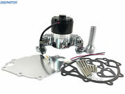 Small Block Ford Electric Water Pump 289 302 351w Sbf High Volume Flow Chrome