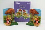 Winnie Pooh And Friends 3d Bookends Rare Collectible Disney Hallmark Retired