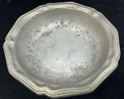1 Rimmed Soup Bowl Wilton Armetale Queen Anne Pewter Columbia Holloware Cereal