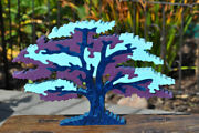 Surivivor Challenge Shade Tree Wood Puzzle Toy Amish Made In The Usa Art