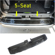 For 2014-2021 Toyota 4runner Black Steel Outer Rear Bumper Protector Guard Trim