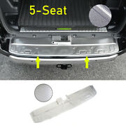 For 2014-2021 Toyota 4runner Silver Steel 5-seat Rear Bumper Protector Guard 1pc