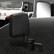 For 87-93 Jeep Wagoneer Wrangler Oe Style Manual Passenger Side Rear View Mirror