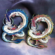 Spirited Away Gradient Painting Dragon Alloy Pin Brooch Fashion Costume Acces
