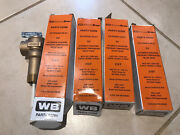 Qty 4 New Wolverine Brass 3/4 Temp/pres Relief Valve 52266 Extended Inlet