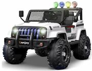 Electric Kids Ride On Cars 12v Motorized Vehicles Remote Control Music Lights