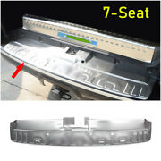 For 2014-2021 Toyota 4runner Steel Silver Outer Rear Bumper Protector Guard Trim