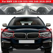 For Bmw G30 Adaptive Led Headlight Front Glass Covers Headlamp Lens