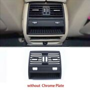 For Bmw 5 Series F10 F11 Rear Air Vent Outlet Center Cover Grille Seat Heating