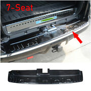 For 2014-2021 Toyota 4runner Steel Black Outer Rear Bumper Protector Guard Trim