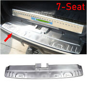 For 2014-2021 Toyota 4runner Silver Steel 7-seat Rear Bumper Protector Guard 1pc