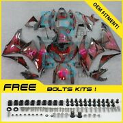 Airbrushed Fairings Bodywork Bolt Screw Fit Kawasaki Ninja Zx6r 2009-2012 15 N1