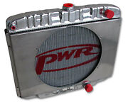 Pwr Fit Ford Mustang 68 69 70 Windsor 55mm Radiator Pwr5064