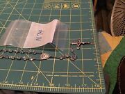 Rosaries Sterling Silver Crucifix Clear Crystal Glass Beads Rosary