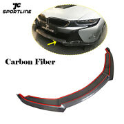 Dry Carbon Front Bumper Lip Spoiler Body Kit Fit For Bmw I8 Coupe 2014-2018