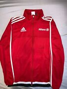 Signed By Pep Guardiola And Joshua Kimmich Adidas Red Track Suit Jacket Size S