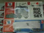 Amt Big Rig Set Just In Not Open Pabst Blue Ribbon Model Kit
