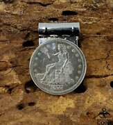 1877 United States Trade Dollar Silver Coin Img Sterling Silver Menand039s Money Clip