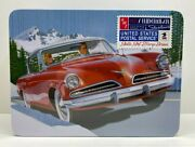Amt 1953 Studebaker Starliner - Usps Collectible Tin 1/25 Model Kit Amt1251-new