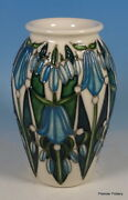 Moorcroft Dingle Dell 393/5 Emma Bossons Bluebells In Bloom 5 Vase 1st Rrp Andpound330