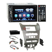 Concept Dvd Bluetooth Mirror Stereo Sil Dash Kit Harness For 08-11 Ford Focus