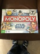 Monopoly Star Wars Board Game The Clone Wars And Star Wars R2-d2 Operation