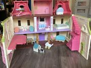 Fisher Price Loving Family Grand Mansion Dollhouse Lights/sounds And Furniture