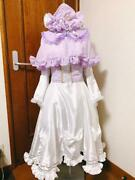 Touhou Project Patchouli Knowledge Cosplay Costume + Wig Arrange Costume