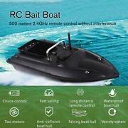 Smart Rc Bait Boat Dual Motor Fish Finder Remote Control 500m Speedboat Tool Toy
