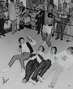 Muhammad Ali Authentic Signed 20x24 Photo With The Beatles Psa/dna Itp 4a53039