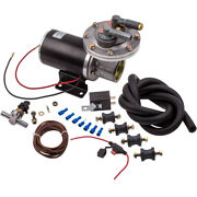 18 To 22 Electric Vacuum Pump Kit Mounting For Brake Booster 12 Volt For Gm