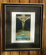 Salvador Dali Signed And Numbered Lithograph Chris Of St John Of The Cross 50andtimes38
